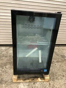 New Glass Door Counter Top Drink Display Cooler Refrigerator Led Idw G 7f 9247