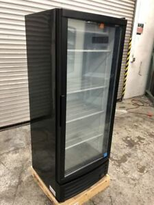 New Glass Door Drink Nsf Beverage Display Cooler Refrigerator Idw G 12f 9253 Etl