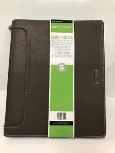 Day Runner Undated Harrison Leather Day Planner 10 5 X 12 5 X 11 18 Inches