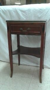 Rway Northern Furniture Co Mahogany Sheraton Style Bedroom Night Stand Or Side