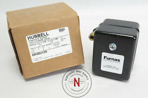 Furnas Hubbell 69hbu12s Air Compressor Pressure Switch 115 150psi 1 4 Fnpt