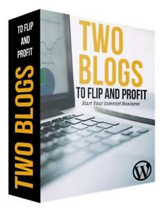 Two Blogs To Operate Or Flip Blog Website Business For Sale Wordpress