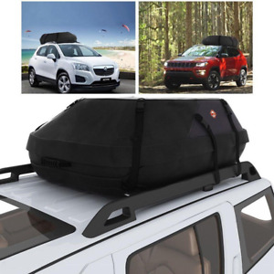 Size S Car Suv Roof Top Cargo Carrier Luggage Travel Waterproof Storage Bag