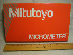 Mitutoyo 103 219 4 5 0001 Ratchet Stop Outside Micrometer