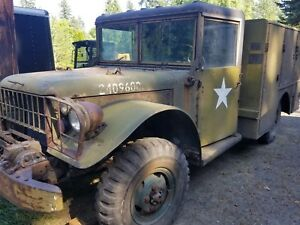 Dodge Military Cmu 5 Contract Maintenance Truck M37