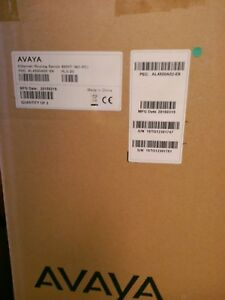 New Lot Of 2 Avaya 4550t Al4500a02 e6 48 port 10 100 Ethernet Routing Switch
