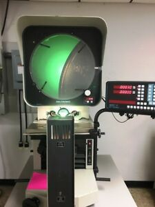 16 Deltronic Dh216 Optical Comparator With Digital Readout New 2002