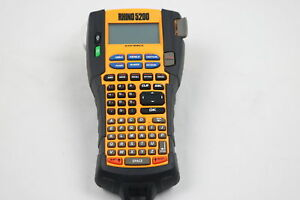 Dymo Rhino 5200 Industrial Label Maker With 1 Roll Of Vinyl