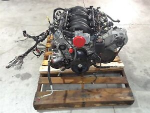 1998 Corvette C5 Complete Engine Ls1 Drop Out 5 7 345hp 108k Miles Aa6370