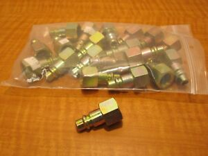 23 Foster P460 a Pneumatic Air Fittings Male 3 8 Npt Plugs New
