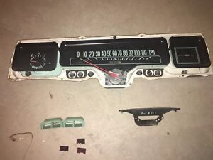 1968 Chevy Impala Instrument Cluster