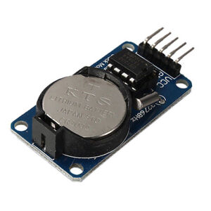 New Arduino Rtc Ds1302 Real Time Clock Module With Battery 44mm 23mm 1 6mm
