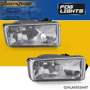 Bright Led Projector Driving Fog Lights For 2007 2014 Chevy Silverado Tahoe