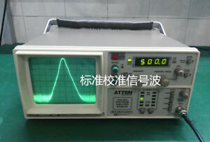 Used Atten At5011 Spectrum Analyzer 150k 1ghz With Tracking Generator110 220v