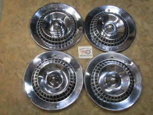 1959 Dodge Custom Royal Lancer Regal Lancer 15 Wheel Covers Hubcaps Set Of 4