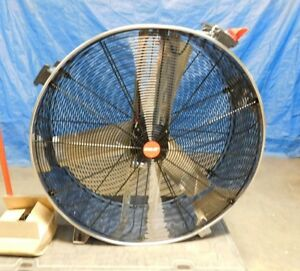 Shop air Stainless Steel Direct Drive Industrial Drum Fan 36 1180200