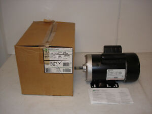 Ao Smith B697 Ac Motor 7 182831 02 2 0hp 3450rpm 1ph 208 230 115v