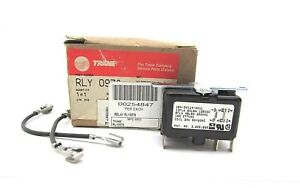 Trane Power Control Relay 24v Coil Dpst 12 Amp At 125 Rly0978