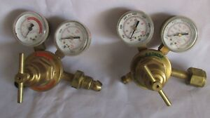 Radnor Cutting Welding Torch Regulators Oxygen 250 80 540 Acetylene 250 15 510