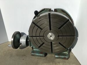 Troyke 12 model U 12 Rotary Table Used In Good Condition