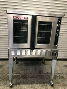 Gas Convection Oven Full Size Blodgett Dfg 100 9271 Commercial Nsf Bakery Roast