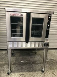 Gas Convection Oven Full Size Blodgett Dfg 100 9273 Commercial Nsf Bakery Roast