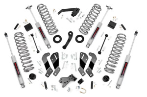 Rough Country 3 5 Suspension Lift Kit For 2007 2018 Jeep Jk Wrangler Unlimited