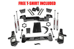 Rough Country 6 Suspension Lift Kit For 2001 2010 Chevy gmc 2500hd 4wd
