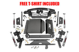 Rough Country 6 Suspension Lift Kit For 1988 1998 Chevrolet Gmc K1500 4wd