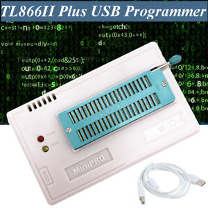 Xgecu Tl866ii Plus Usb Programmer For 15000 ic Spi Flash Nand Eeprom Mcu Pic Avr