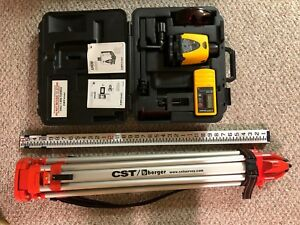 Cst Lasermark Self leveling Rotary Laser Lm 30 ld100 Complete Kit