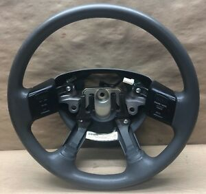 2006 2007 2008 2009 Dodge Ram 1500 Steering Wheel W Control Grey Oem