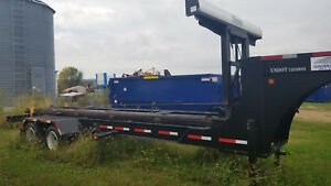 Domatex Gn 40 Roll Off Dumpster Dump Trailer