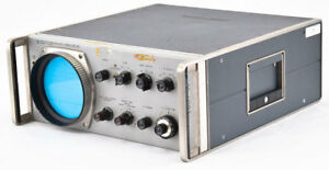 Hp agilent 851b Industrial Frequency Spectrum Analyzer Display Section