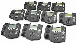 Lot Of 10 Polycom Soundpoint 450 Ip450 Office Business Voip Telephone Only
