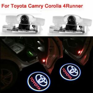 Us 2pcs For Toyota Door Projector Car Led Logo Ghost Shadow Lights Lamp Wireless