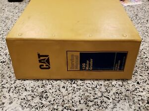 Nice Cat Caterpillar 12g Motor Grader Shop Service Repair Manual 61m1 61m12026