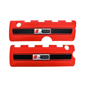 Roush 422021 Mustang Coil Cover Red Pair 2011 2017 5 0l