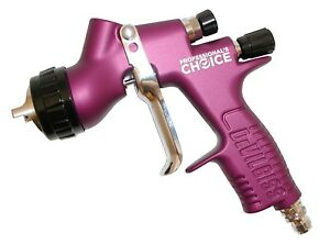 Tekna Prolite Purple Haze Spray Gun 1 2 1 3 1 4 Tips Te20 Cap W Digital Gauge