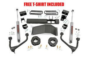 Rough Country 3in Gm Suspension Lift Kit W Upper Control Arms 2019 1500 Pu 4wd