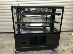 48 Dry Glass Bakery Display Case Wire Rack 8969 Donut Bread Retail Self Serve