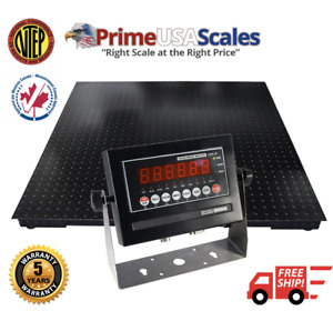 5 Year Warranty 1 000 Lb 4x4 Pallet Floor Scale Warehouse Ntep Legal 4 Trade
