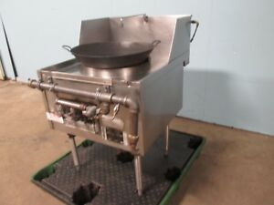 master Range Hd Commercial 32 w Natural Gas Ring Burners 18 chamber Wok Stove