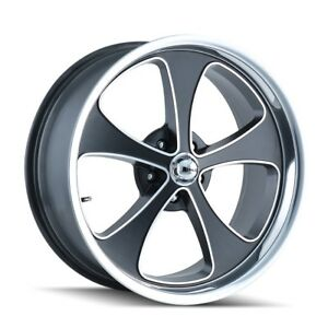 Cpp Ridler 645 Wheels 17x7 18x9 5 Fits Chevy Impala Chevelle Ss