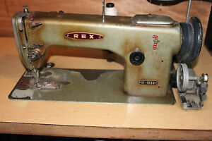Rex 11 155r Leather Walkingfoot Heavy Duty Sewing Machine