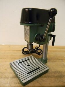 Enco 1 4 Miniature Bench Top Drill Press 4 5 16 Swing Jt1 Spindle Taper 115v