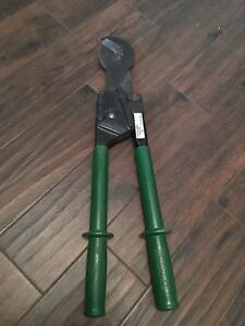 Greenlee Ratchet Cable Cutter 756