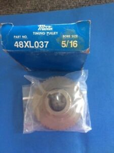 Martin Timing Belt Pulley Bore Size 5 16 Part 48xl037