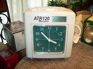 8 Acroprint Atr120 Automated Top Loading Electric Time Clock Time Recorder