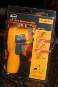 Fluke 62 Max Ir Thermometer Non Contact 20 To 932 Degree F Range 10 1 New